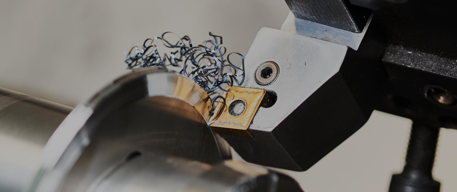 mecanique tourneuse copeaux